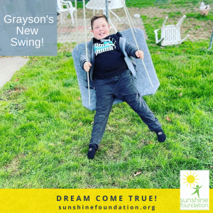 Grayson's New Swing
