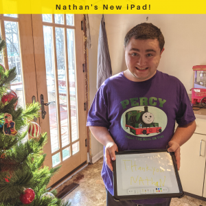 New iPad for Nathan