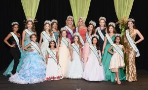 Princess winners with sashes and tierras