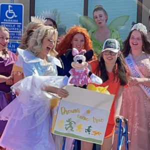 Addie's Royal Cupcake Stand Supports Haley's Dream